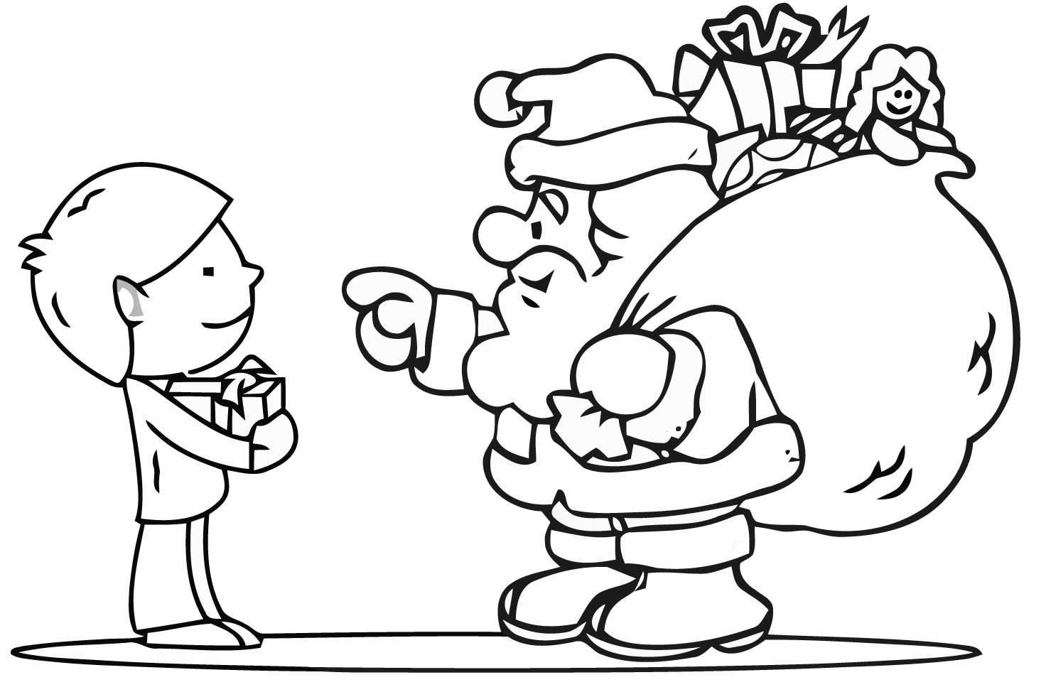Niño Dibujo Para Colorear: Dibujos De Navidad Para Colorear, Imágenes Navidad Para