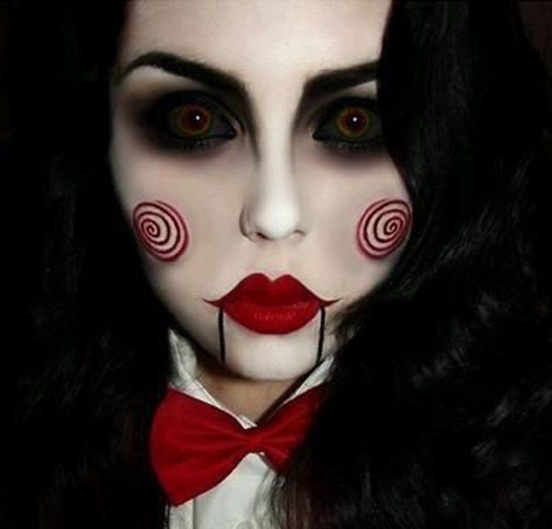disfraz-jigsaw-maquillaje
