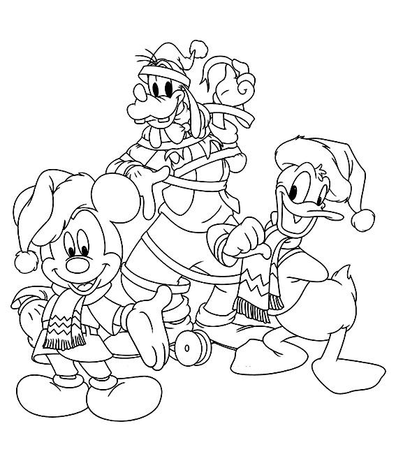 Dibujos De Navidad Para Imprimir Y Colorear Gratis. Fabulous Ms Para ...