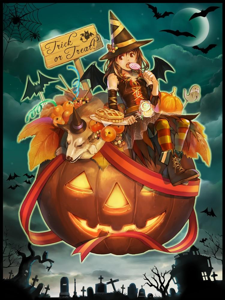 fondos-movil-manga-halloween