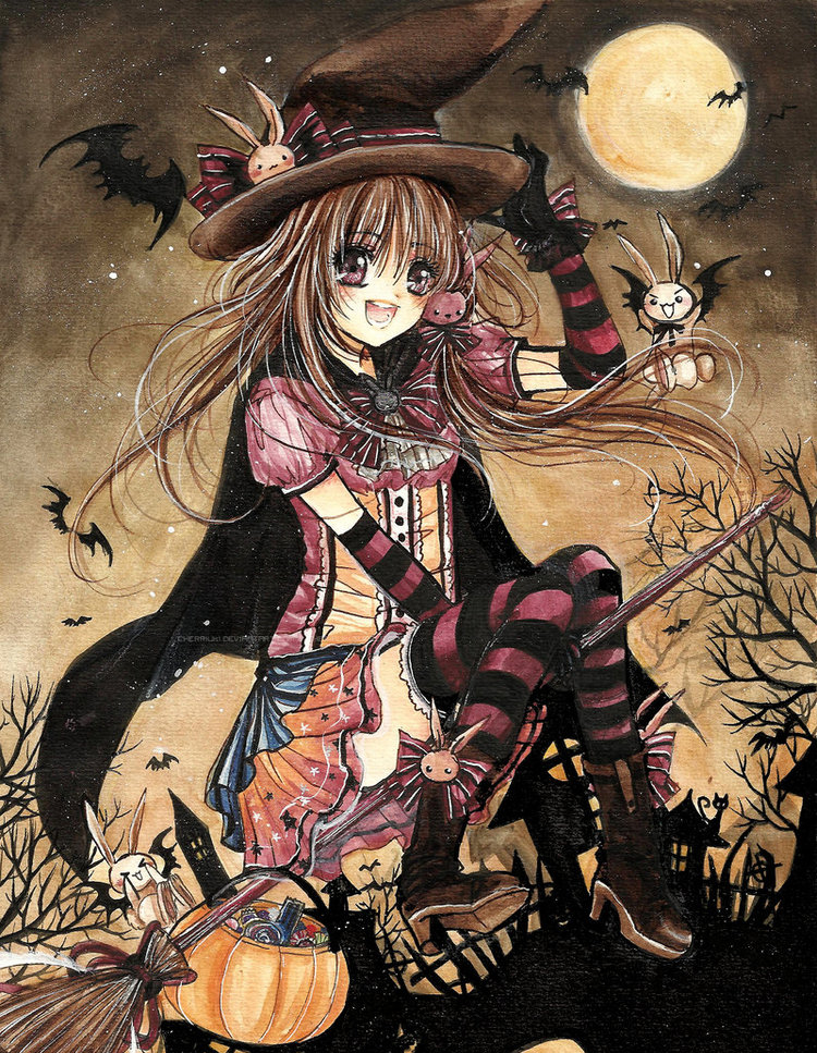 halloween manga y anime para android e iphone fondos movil On fondos anime para android
