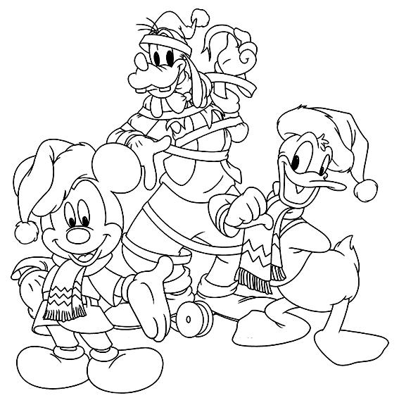 goofy-mickey-donald-navidad
