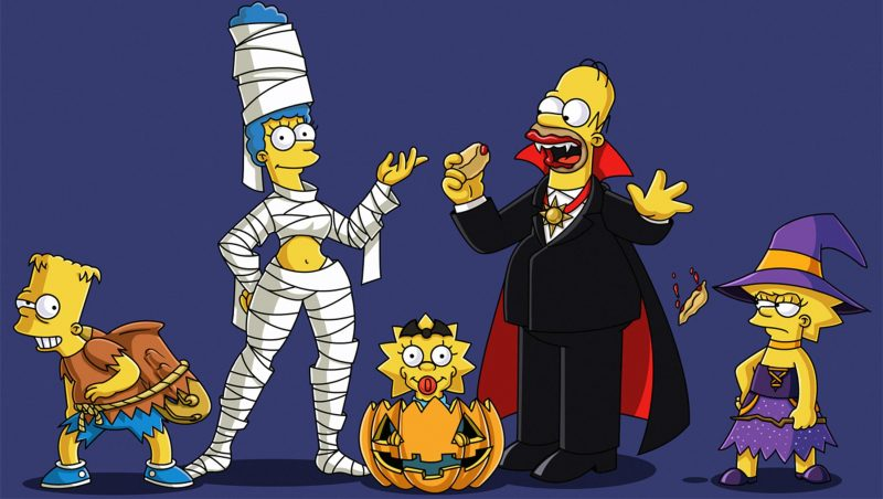 halloween-wallpapers-los-simpson