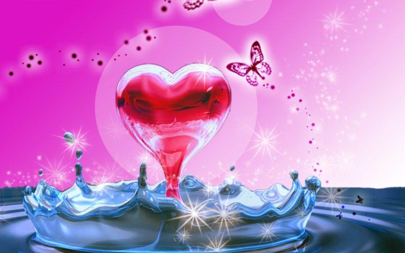 heart-in-water-wallpaper-hd