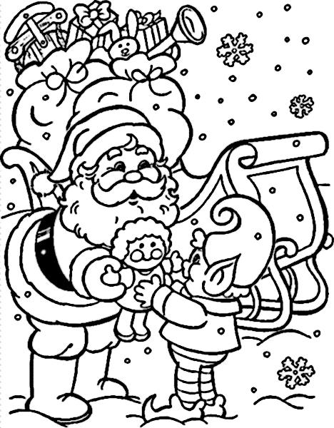 laminas-dibujo-navidad-colorear