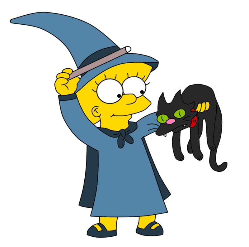 lisa-simpson-the-witch-halloween