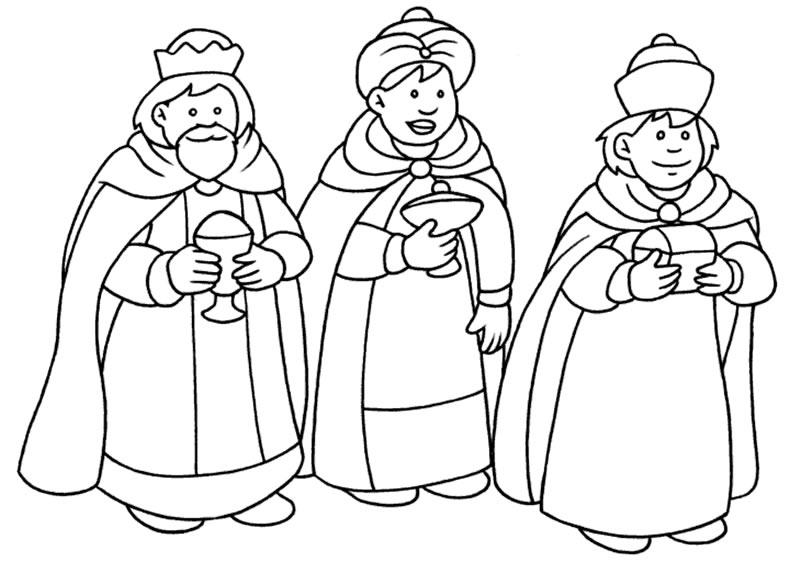 los-reyes-magos-para-colorear