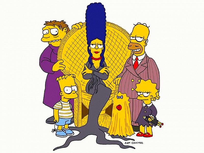los-simpson-como-la-familia-adams