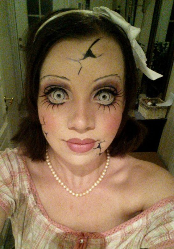 maquillaje-cara-muñeca-porcelana-rota