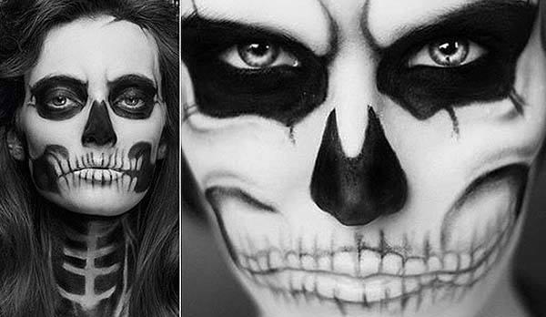 maquillaje-esqueleto-halloween