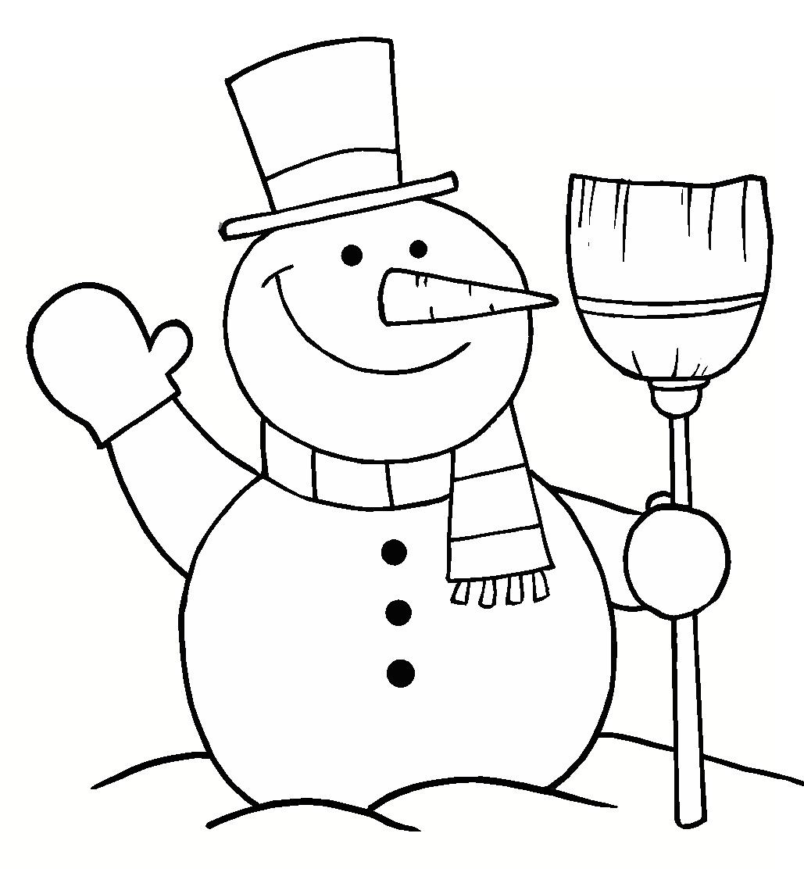 Dibujos de Navidad para colorear, imágenes Navidad para imprimir