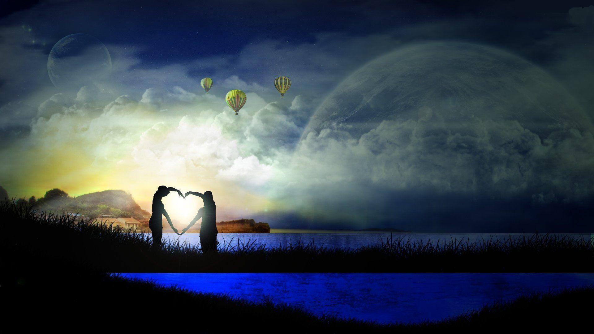 Wallpapers En Hd: Love Wallpapers Hd, Amor Fondos De Pantalla, Love 3D