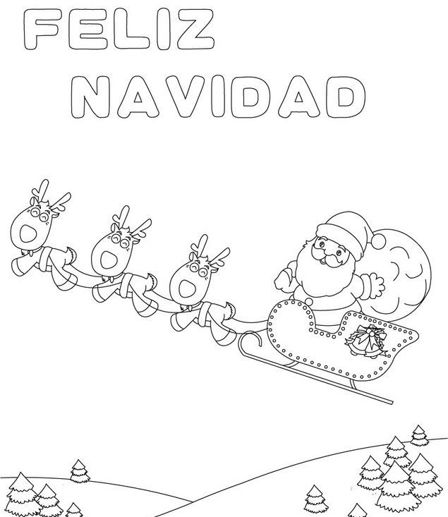 dibujos de feliz navidad para colorear e imprimir im genes feliz navidad. Black Bedroom Furniture Sets. Home Design Ideas