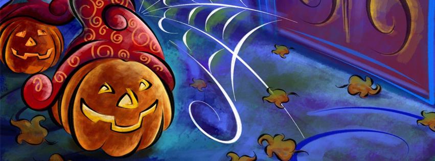 Portadas Halloween para facebook, imágenes halloween