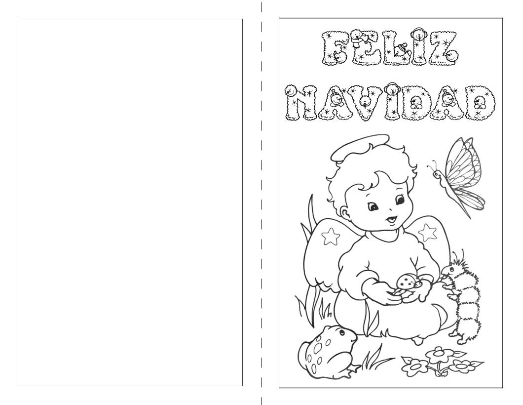 Dibujos De Feliz Navidad Para Colorear E Imprimir Imágenes