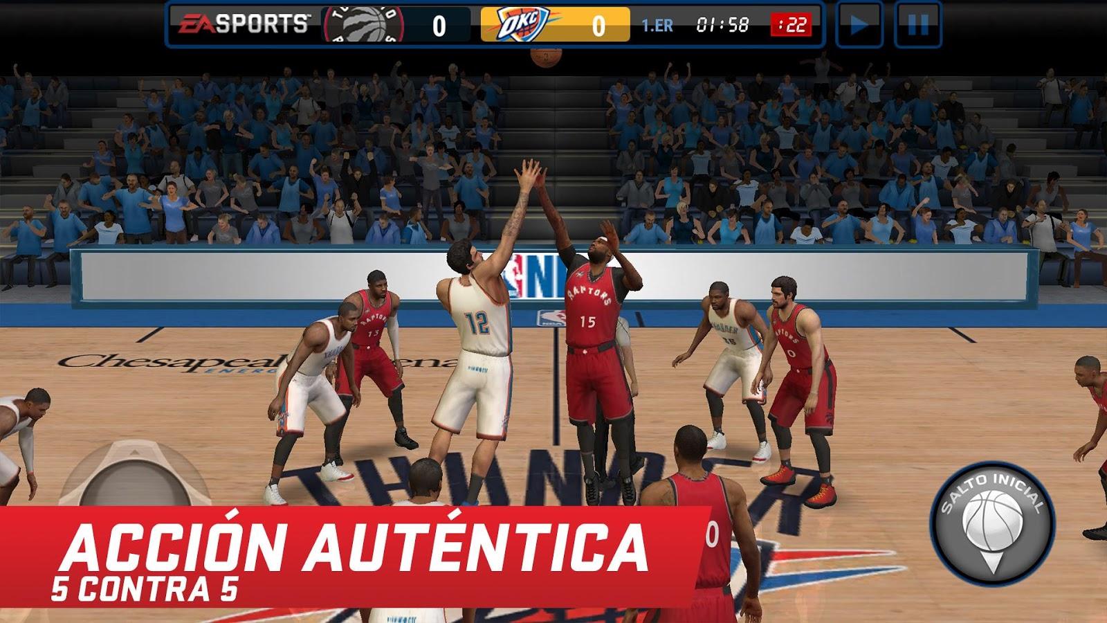 Descargar NBA Live Mobile Gratis para Android e IOS