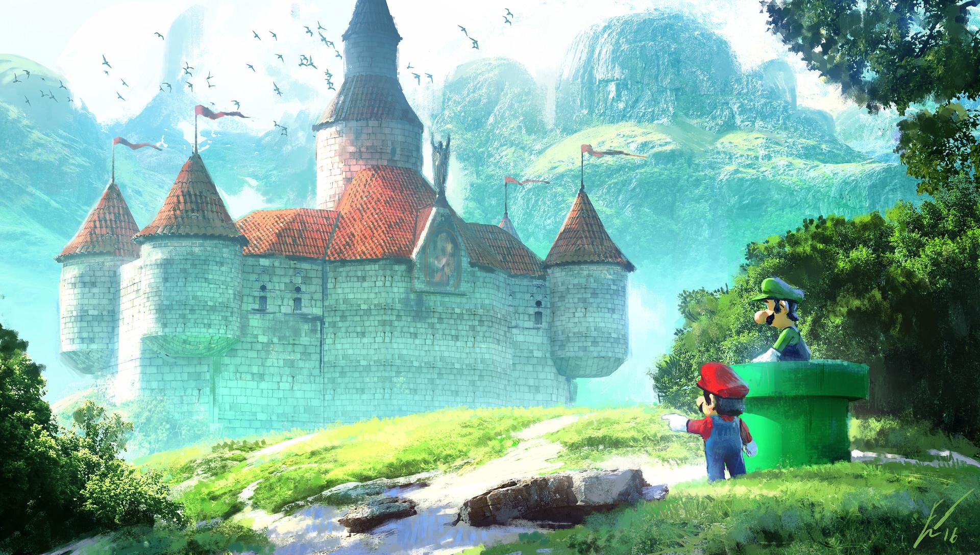 Imagenes Fondos De Pantalla: Fondos De Pantalla De Super Mario, Wallpapers
