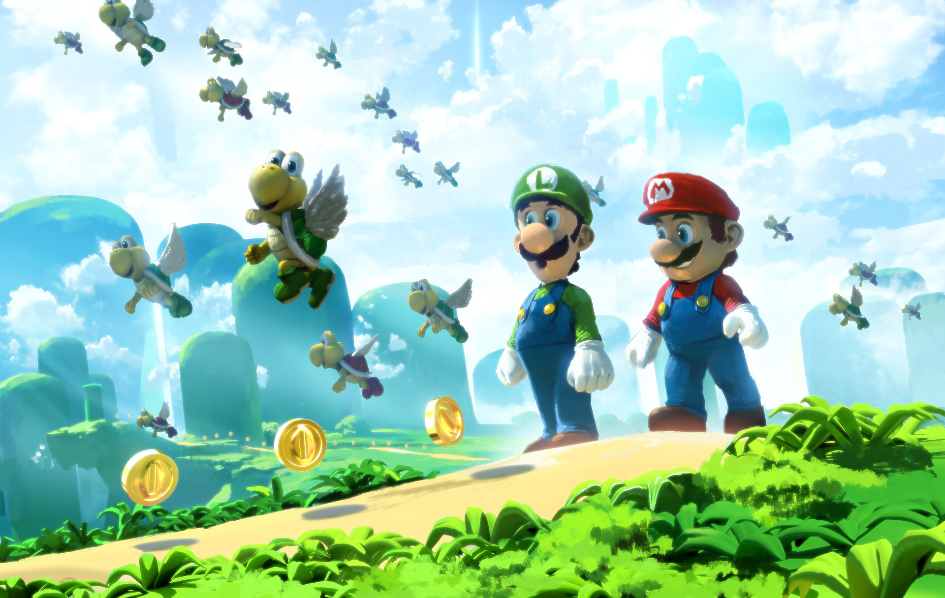 Fondos De Pantalla De Super Mario, Wallpapers
