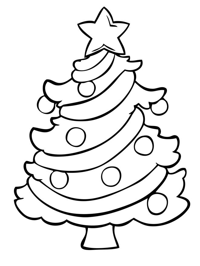 dibujos de rboles de navidad para colorear e imprimir On imagenes de arboles para colorear e imprimir