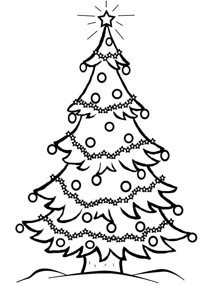 Dibujos de rboles de Navidad para