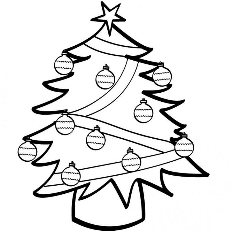 Dibujos de rboles de navidad para colorear e imprimir for Adornos navidenos para colorear y recortar