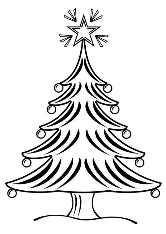 Dibujos de rboles de navidad para colorear e imprimir - Ver arboles de navidad ...