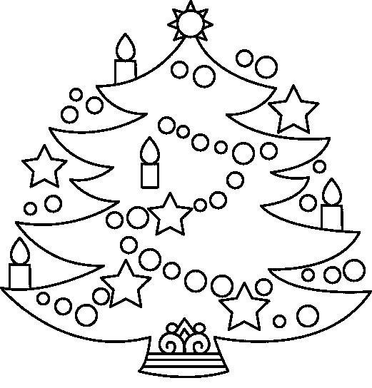 Dibujos de navidad para imprimir y recortar