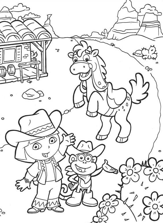 dibujos-dora-la-exploradora-para-colorear-6