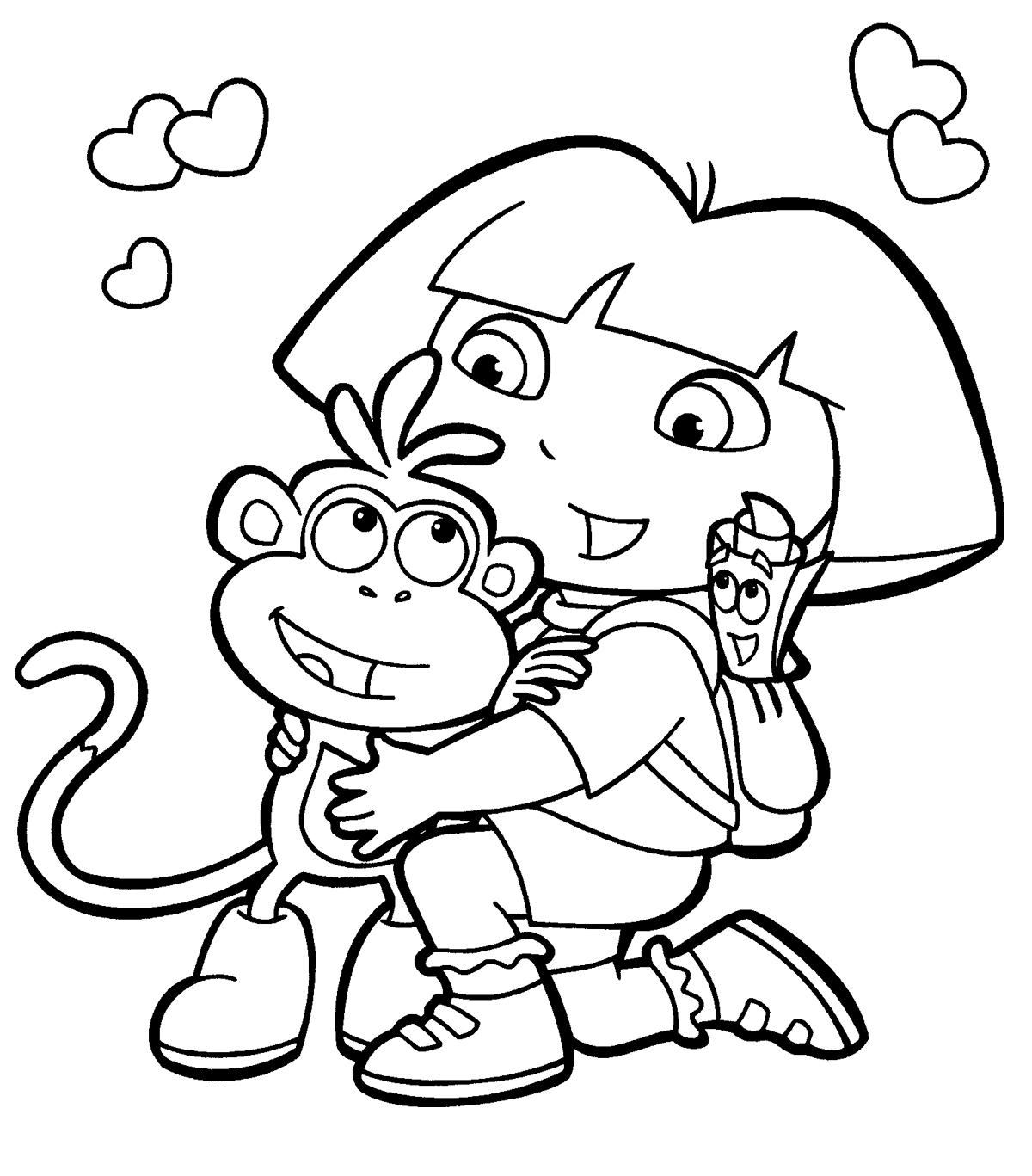 Dibujos de Dora la Exploradora