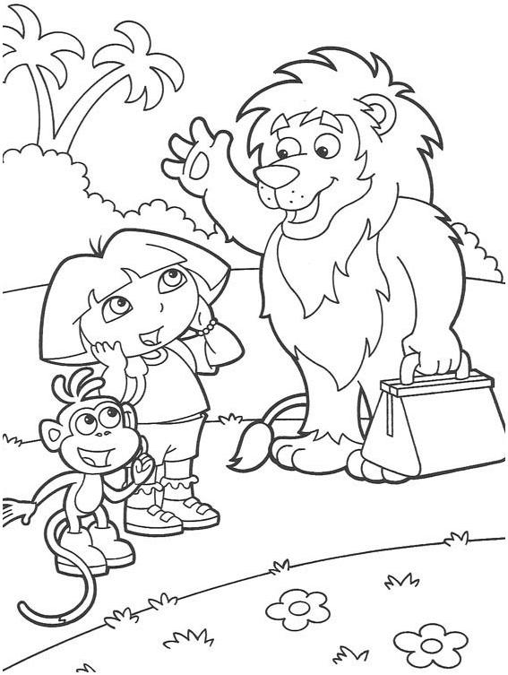 dora-la-exploradora-botas-y-lion