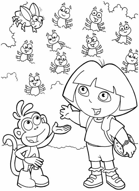 dora-la-exploradora-dibujos-para-colorear