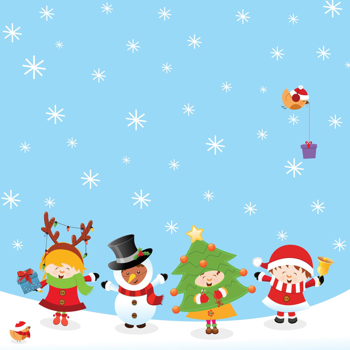 Tarjetas Navidad Para Imprimir Copo Nieve Fondo Rojo