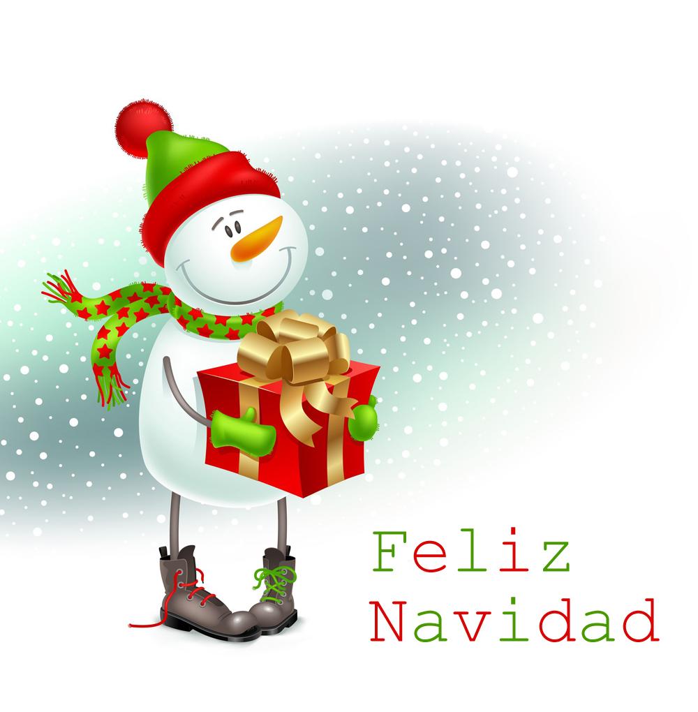 20 im genes para felicitar la navidad por whatsapp - Dibujos tarjetas navidenas ...