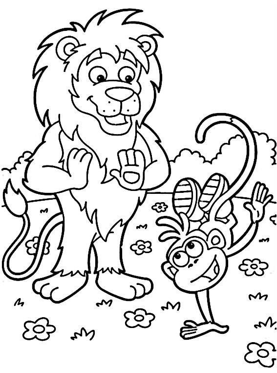 lion-y-botas