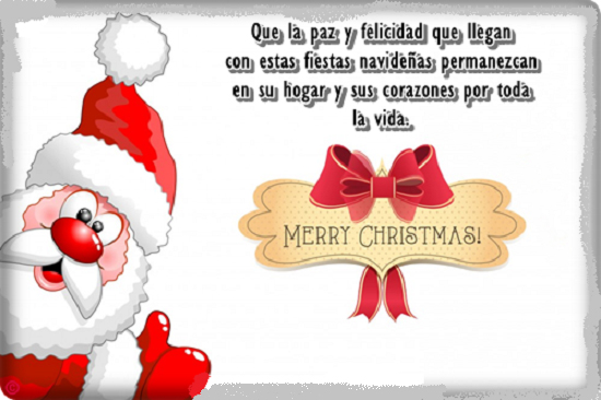 Tarjetas de navidad tarjetas navide as para felicitar las - Felicitaciones cortas de navidad y ano nuevo ...