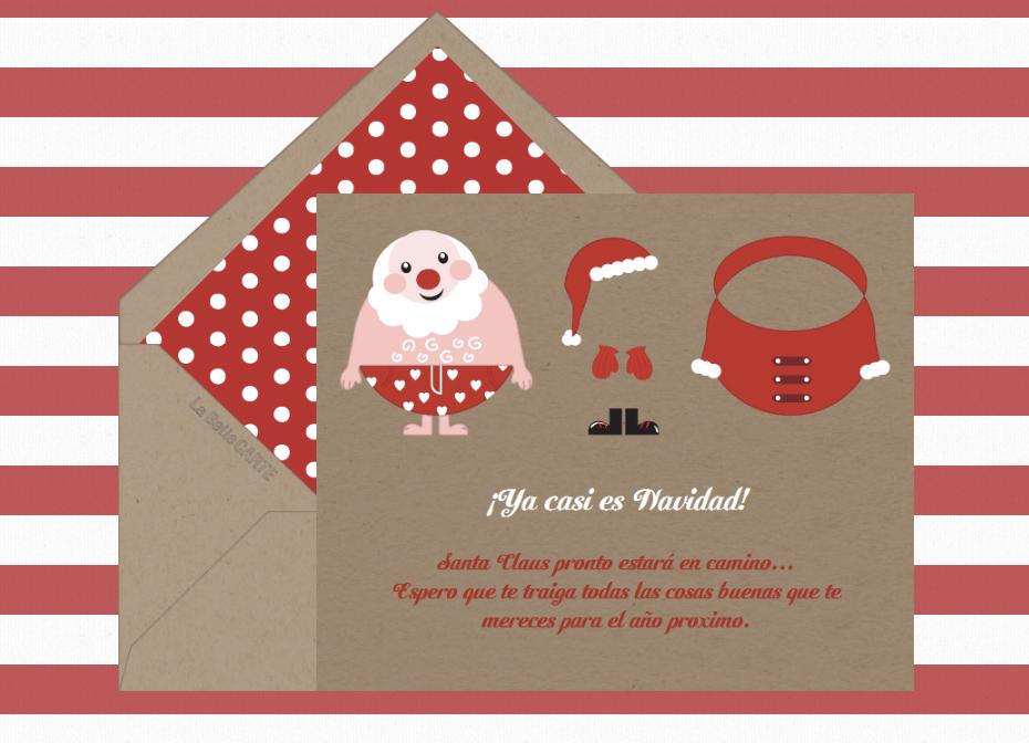 Tarjetas de navidad tarjetas navide as para felicitar las - Como hacer una felicitacion de navidad original ...