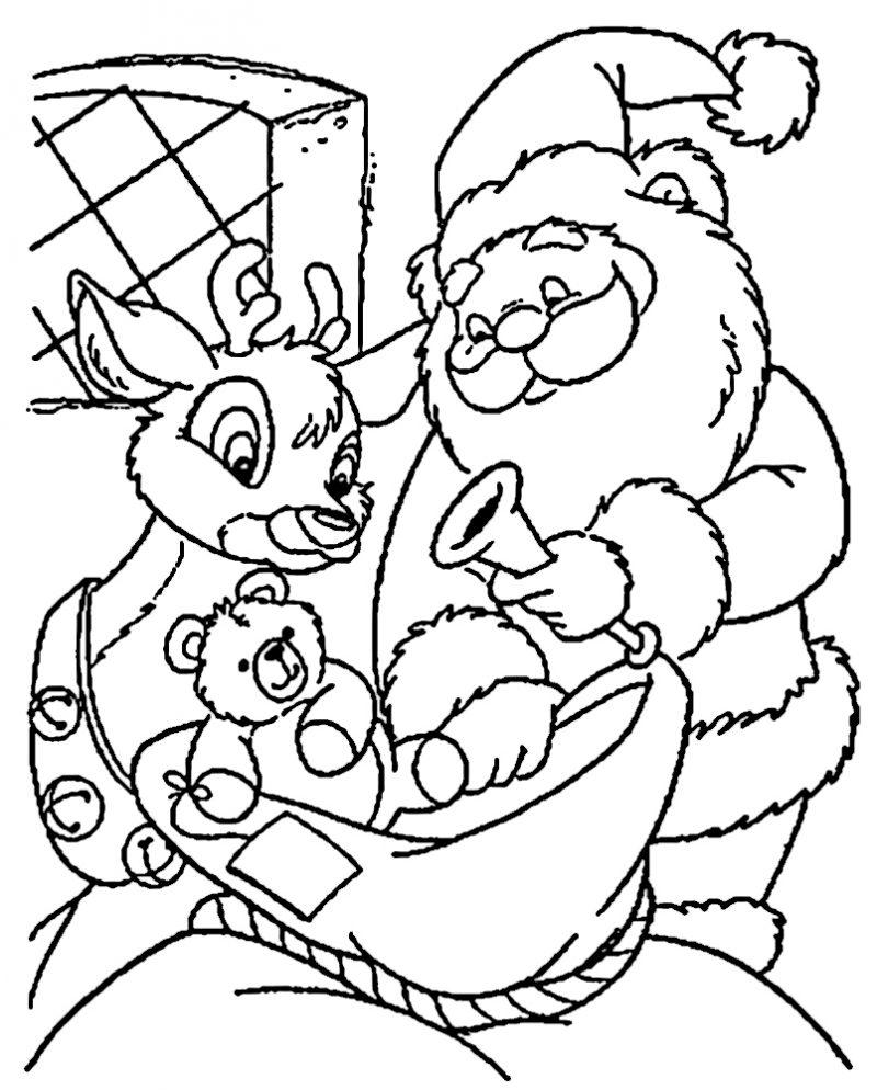 dibujos-papa-noel-para-colorear-4