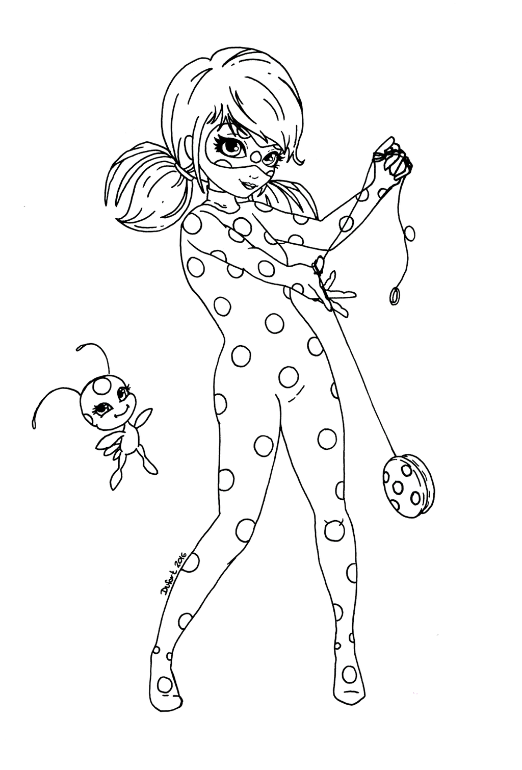 Dibujos de progigiosa lady bug y cat noir para colorear e - Dessin chat noir ...