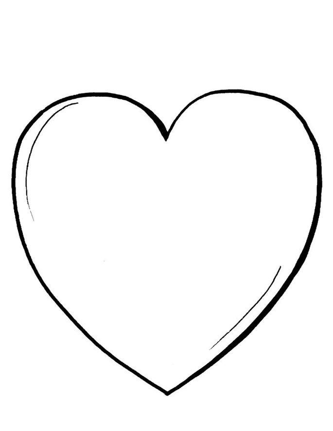 Dibujos de amor para colorear e