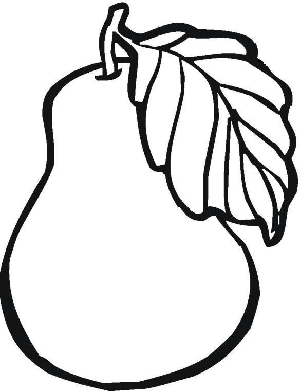 dibujos para colorear de frutas imprimir y pintar