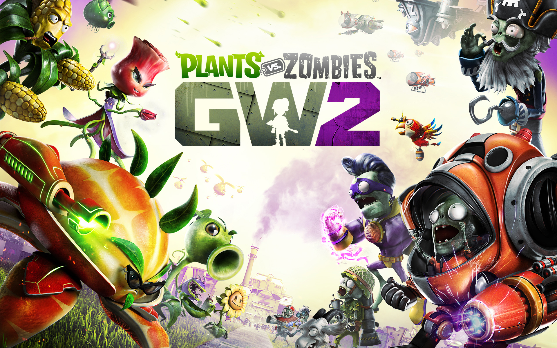 Fondos de pantalla de plants vs zombies garden warfare 1 y - Free plants vs zombies garden warfare ...