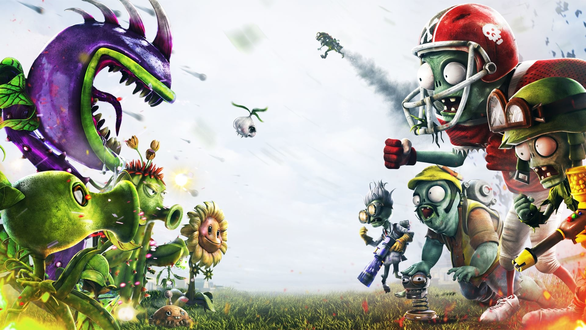 Fondos De Pantalla De Plants Vs Zombies Garden Warfare 1 Y 2 Wallpapers