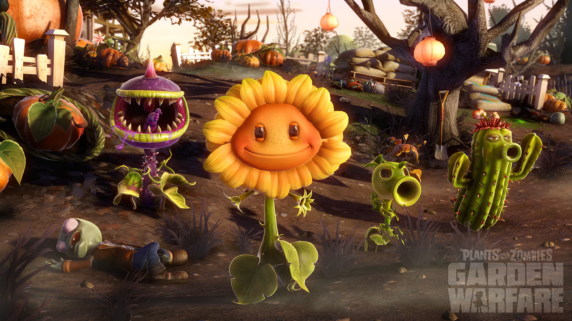 Fondos de pantalla de plants vs zombies garden warfare 1 y for Plante vs zombie garden warfare 2