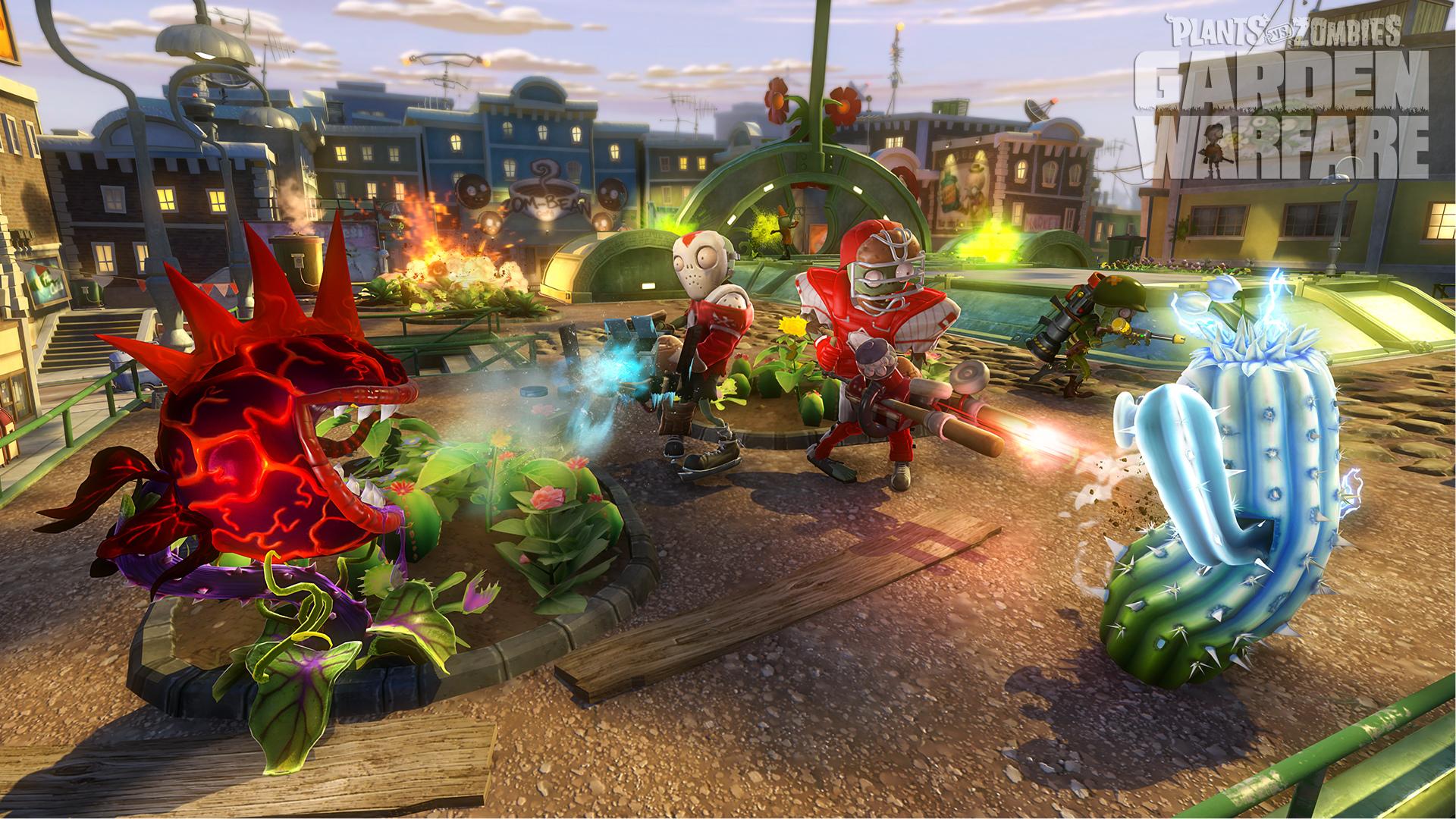 Fondos De Pantalla De Plants Vs Zombies Garden Warfare 1 Y 2