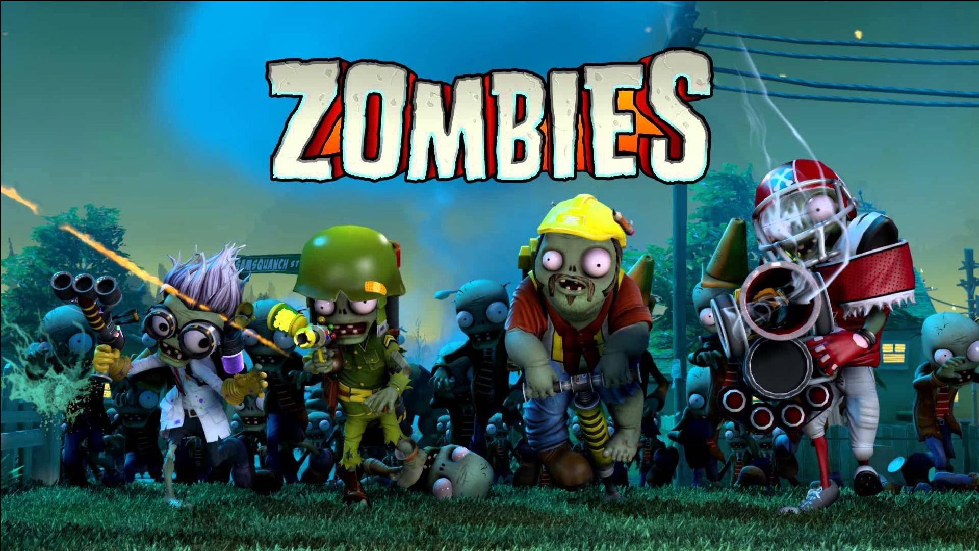 Fondos de pantalla de plants vs zombies garden warfare 1 y 2 wallpapers for Plants versus zombies garden warfare