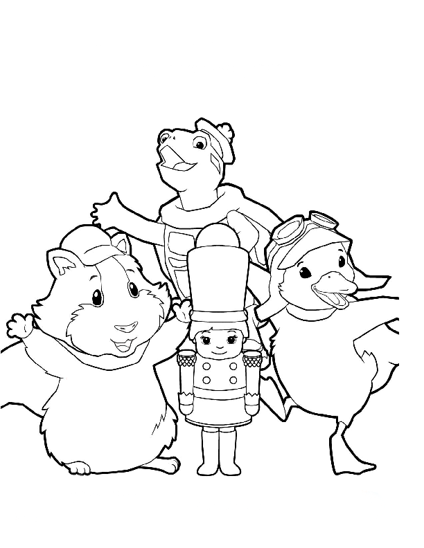 coloring pages of zuzu pets - photo#37