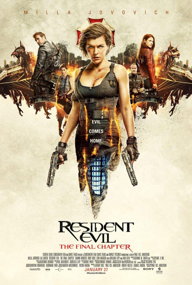 Cartel y Poster de Resident Evil : el capitulo final