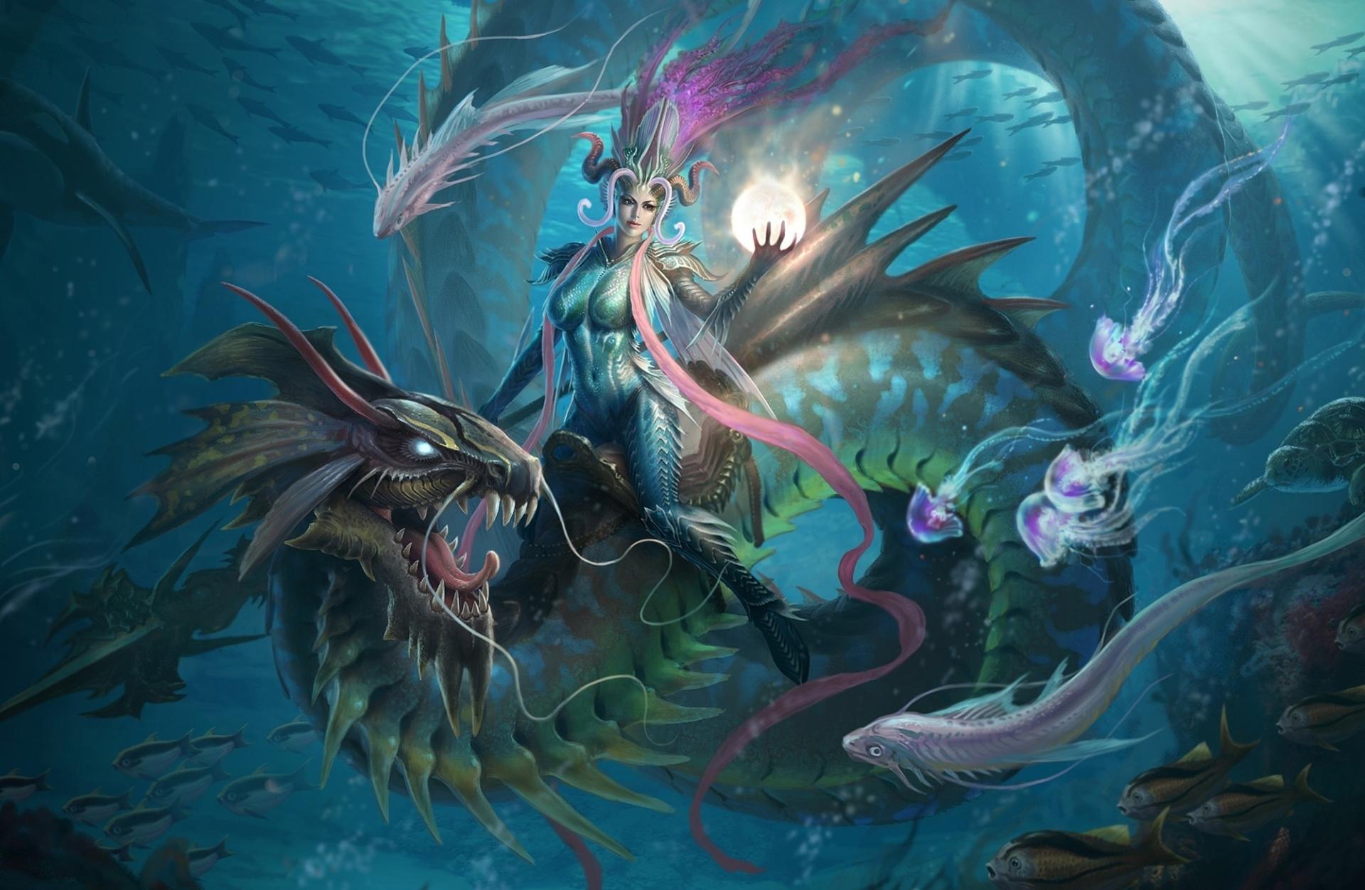 Fondos de pantalla de brujas wallpapers hd de brujas hermosas - Fantastic girl wallpaper hd ...