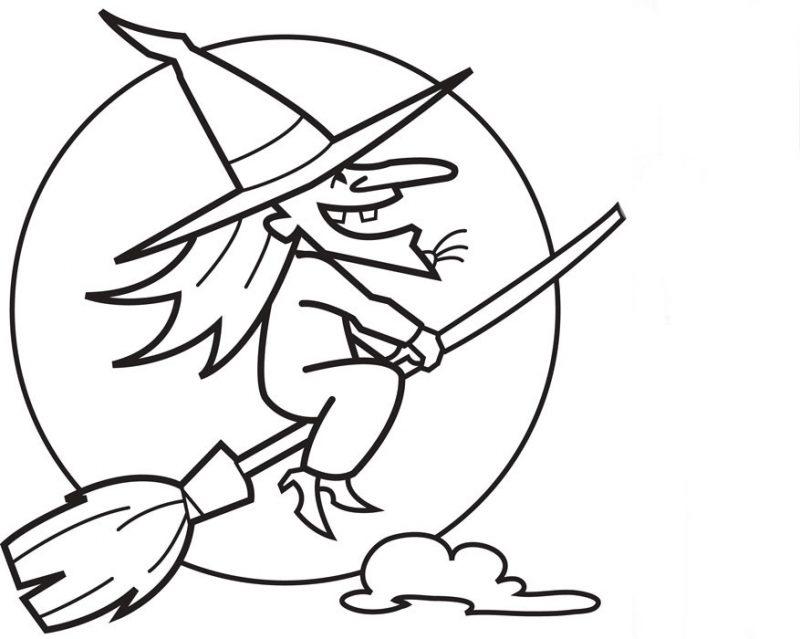 Dibujos de brujas para pintar