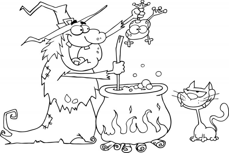 hansel si gretel coloring pages - photo#22